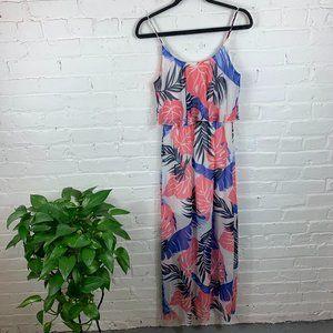 Pink Owl Spaghetti Strap Maxi Dress Multi Size S
